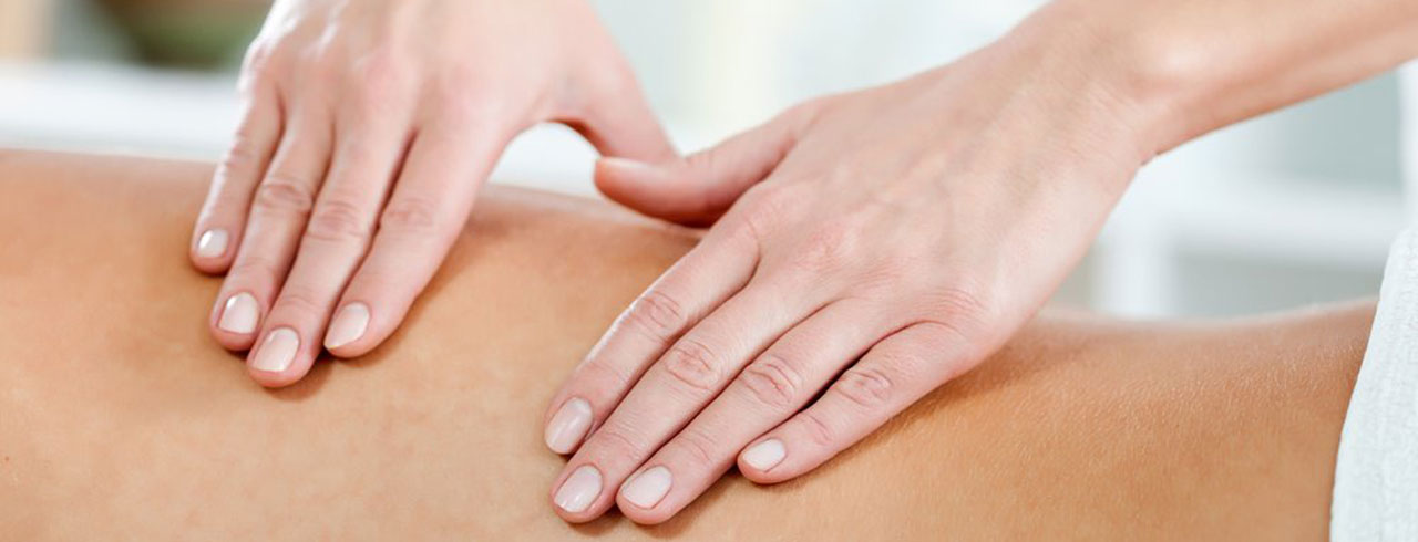 Back Massage at Petersfield Physio